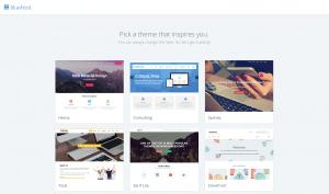 Pick a theme that fit blogging